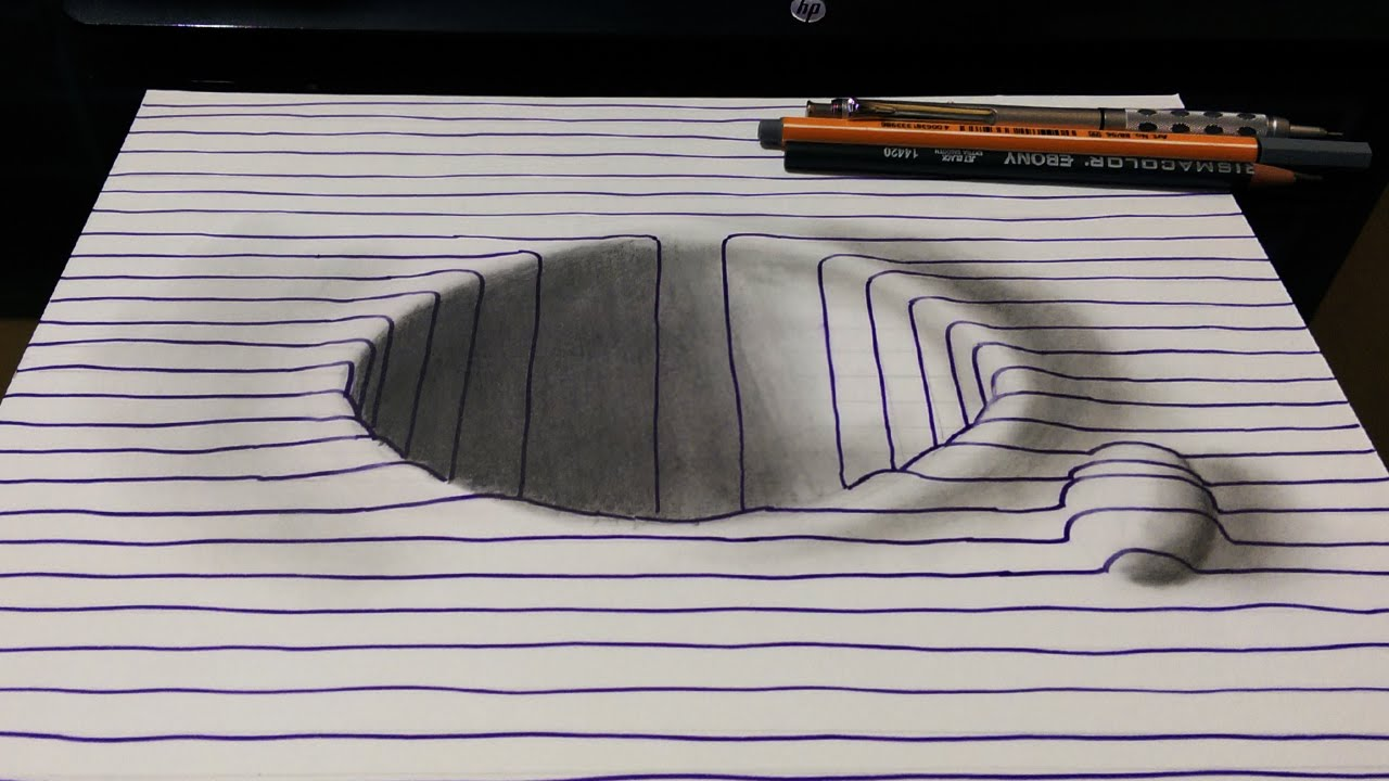 how to draw t in 3d