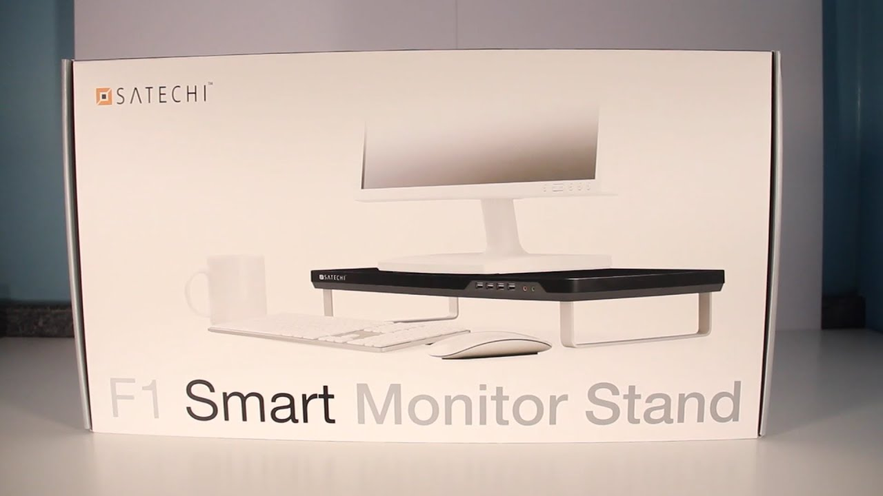 Best Monitor Stand Satechi F1 Smart Stand Review Youtube