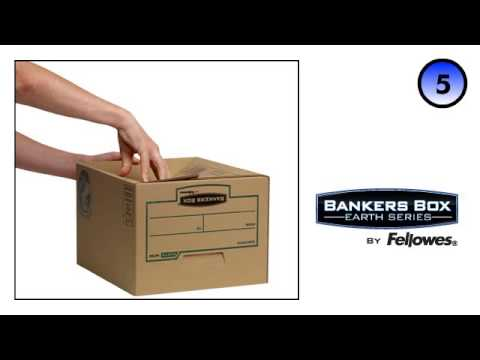 Bankers Box® Earth Series Budget Box Assembly Demo