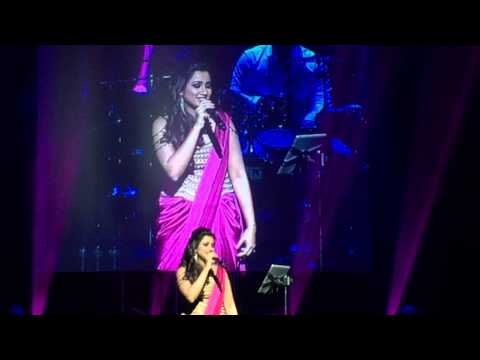 Shreya Ghoshal pays tribute to the legends, live performance in Cincinnati, Ohio, USA