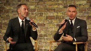 DSQUARED2 Dean & Dan Caten & Kinvara Balfour: Fashion in Conversation at the Apple Store
