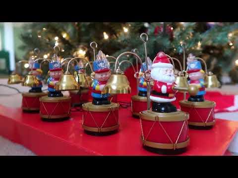 1992 Mr. Christmas vintage Santa marching band.