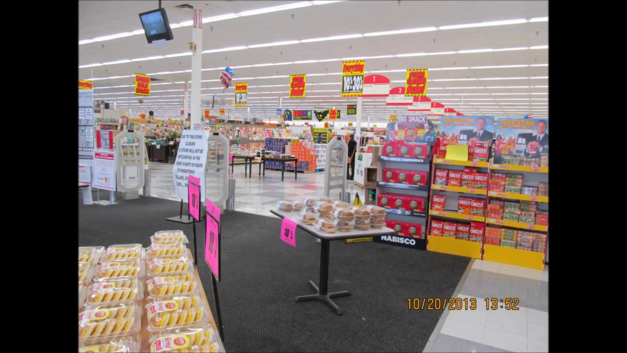 Kmart In Round Lake Beach Illinois Store Closing Tribute