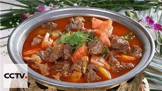 Китайская кухня: Тушенная в томатном соусе говядина