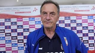 Selektor Ljubomir Obradović Nakon Trijumfa Srbije nad Slovenijom | SPORT KLUB Rukomet