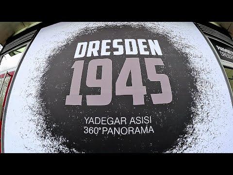 DRESDEN 1945 - Yadegar Asisi | 360° Panorama im Panometer Dresden