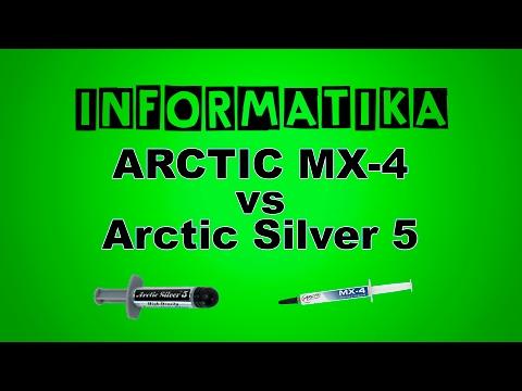 Test paste termiche per CPU e GPU ARCTIC MX-4 vs Arctic Silver 5