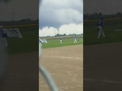 Big Jim - At Work - WATCH: Tornado in Background While Little League Team Practices