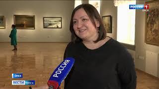 """Картины экспозиции """"Пути-дороги"""" из собрания Ярославского музея скорее всего задержатся в Омске"""