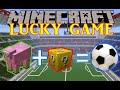 FIFA 15 AVEC DES MOUTONS !! - LUCKY GAMES Minecraft mod [FR] [HD]
