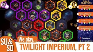 Twilight Imperium, Part 2 - Shut Up & Sit Down Playthrough!