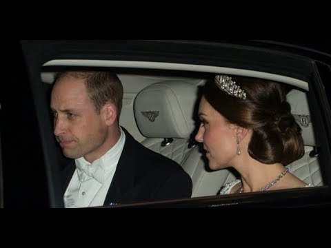 Royal Family attended the annual Diplomatic Reception at Buckingham