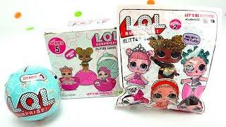 Сюрпризы куколки лол и лил, 5я серия Распаковываем шары