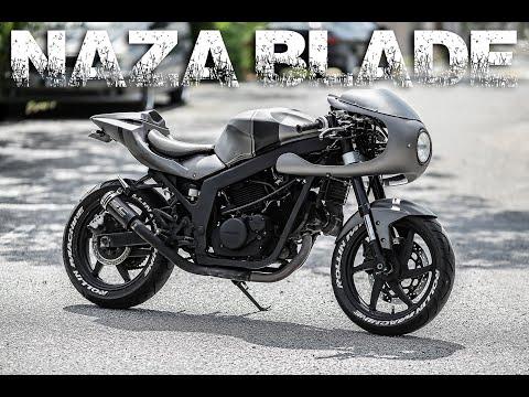 Naza Blade 250 Cafe Racer Look Youtube
