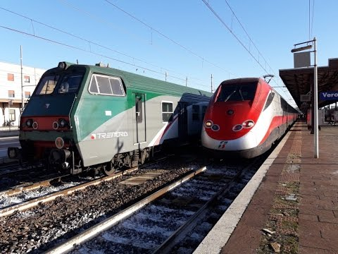 Circolazione dei treni della stazione di verona porta - Mezzi pubblici verona porta nuova ...