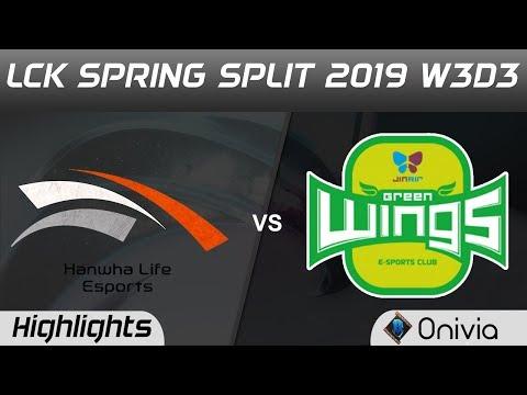 HLE vs JAG Highlights Game 2 LCK Spring 2019 W3D2 Hanwha Life Esports vs Jin Air GreenWings by Onivi