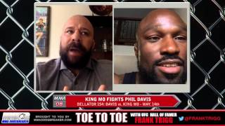 Bellator 154's King Mo Lawal: 'Tune in to watch me whoop Phil Davis' ass'