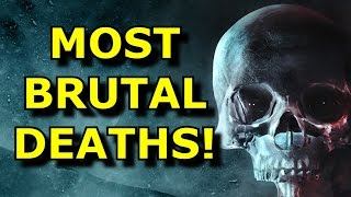 TOP 10 Most BRUTAL Deaths In Gaming!