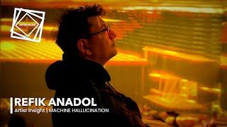 Artist Insight: Refik Anadol   Machine Hallucination
