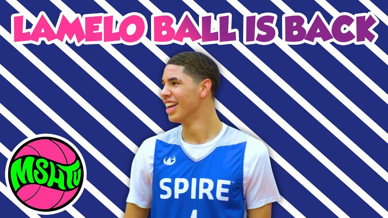 0cf97a49b304 MELO IS BACK - LaMelo Ball SHOWS OUT in his FIRST GAME in OHIO - YouTube