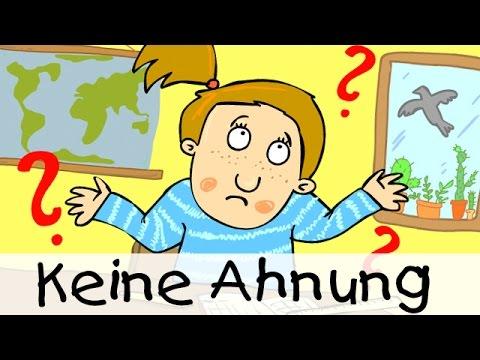 Keine Ahnung - Lieder für die Schule zum Mitsingen || Kinderlieder
