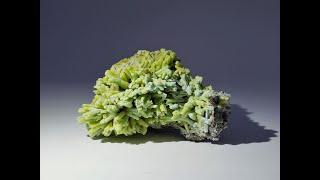 Plumbogummite pseudomorph Pyromorphite Mineral Specimen from Yangshuo Mine, Guilin, Guangxi, China