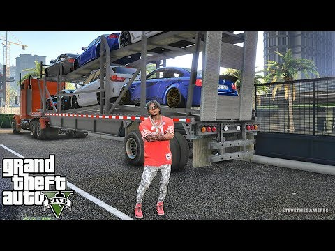 GTA 5 MOD #222 LET'S GO TO WORK!! (GTA 5 REAL LIFE MOD)ROAD TO 800K