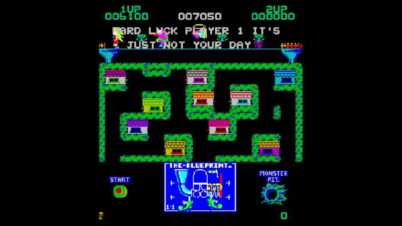 MAMECADE 14: Blue Print Arcade Game