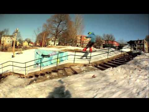Flow Snowboardings Nial Romanek in Was Here