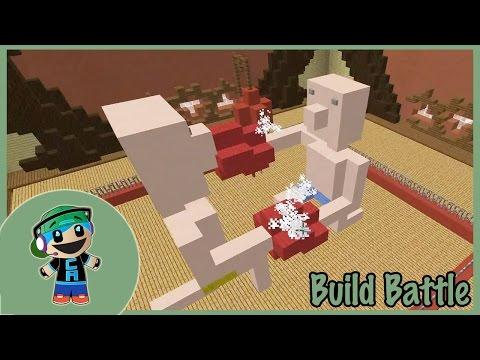 Team Build Battle with Cybernova - Minecraft Mini Game