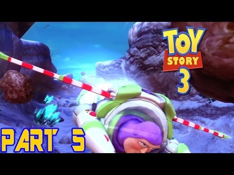 Toy story 3 part 5 buzz lightyear video game 1 youtube for Toy story 5 portada