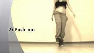 "Dancehall Lesson.Basic Vertical Figure""8"" and variations.EHABY's Tutorial."