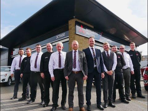 JCT600 launch brand new Mitsubishi dealership in Bradford