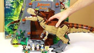 LEGO Jurassic Park: T. rex Rampage 75936 (Speed Build)