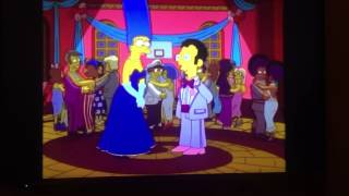 If Marge Marries Artie - The Simpsons
