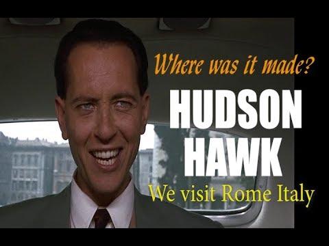 Hudson Hawk Location Shots in Rome Italy. Where was Hudson Hawk made?