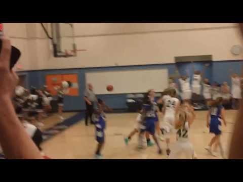 Ronald Reagan Middle School Game winning shot against Parkside Middle School