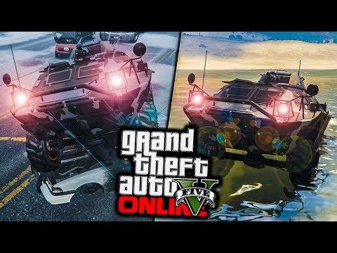 ΚΑΙΝΟΥΡΓΙΑ ΣΤΡΑΤΙΩΤΙΚΑ ΑΜΑΞΙΑ! - GTA 5 Online Gun Running DLC #2