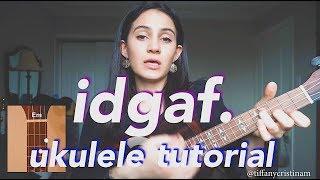 Download lagu IDGAF - Dua Lipa (Ukulele Tutorial)
