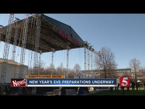 Preps Begin For Nashville NYE Celebration