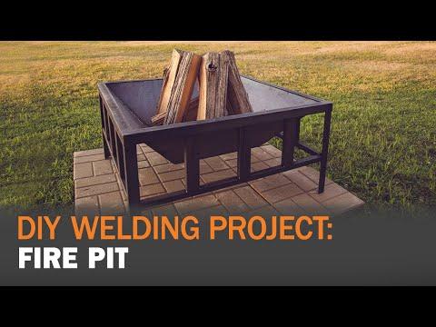 DIY Welding Project: MIG Welding a Fire Pit