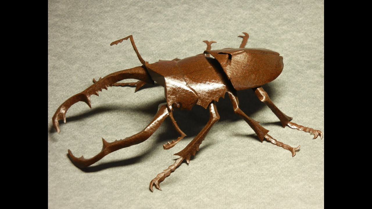 Сделать поделку жука