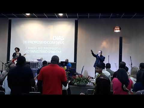 Pastor decivaldo presidente da AD Shalom em Queimados no Rio de Janeiro