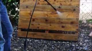 How to clean and disinfect a pallet