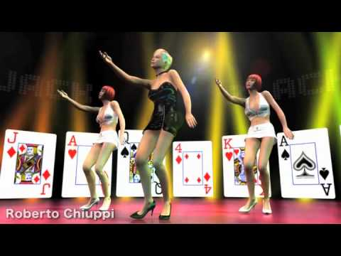 Black Jack Virtual Dance - Poser C4D Mocap BVH