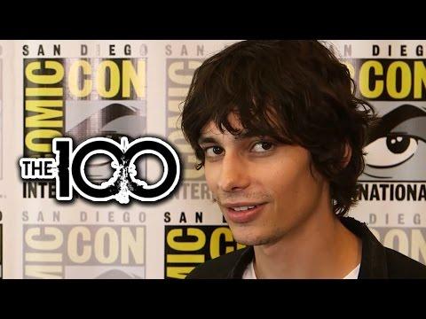 """Devon Bostick """"The 100"""" Teases Season 2 Spoilers - Comic-Con 2014"""