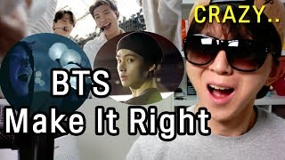 BTS(방탄소년단) - Make It Right (feat.Lauv) MV Reaction (Korean)