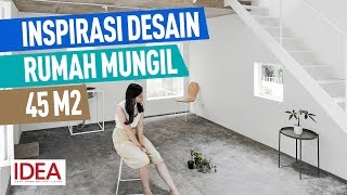 Download Lagu Inspirasi Desain Rumah Mungil 45 Meter Persegi, Jadi Lega Berkat Split Level mp3