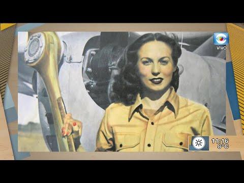 Mirta Vanni: Primera aviadora uruguaya