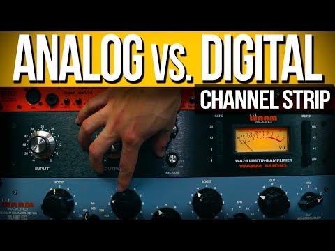 Grabación Analógica vs. Digital | Warm Audio Channel Strip